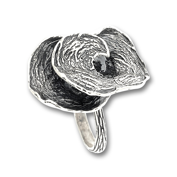 Сребърен пръстен без камък 1516093