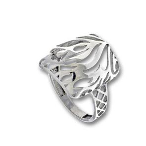 Сребърен пръстен без камък 1486082