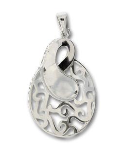 Висулка от сребро без камък 188084