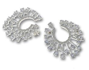 Oбеци с камъни от сребро 140641