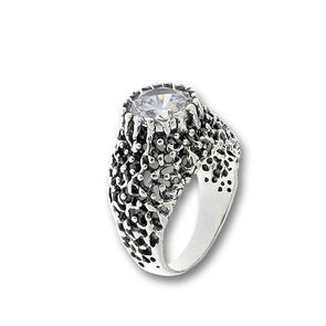 Пръстени с камък от сребро - 1596095