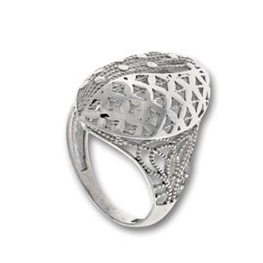 Сребърни пръстени без камък - 1486083