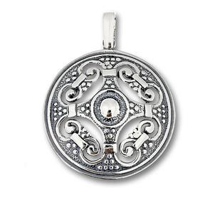 Висулка от сребро без камък 172632