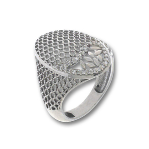 Пръстен с камък от сребро 1486086