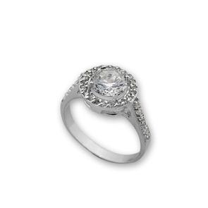 Пръстени с камък от сребро - 1695256