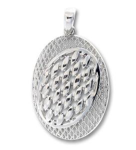 Висулка от сребро без камък 188085