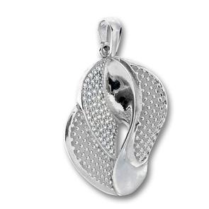 Висулки от сребро с камък - 188087