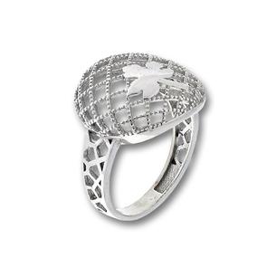 Сребърен пръстен без камък 1486078