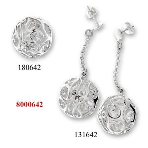 Сребърни бижута - комплект 8000642