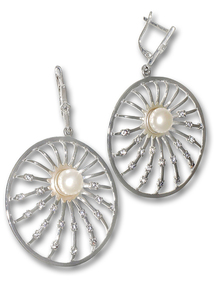 Сребро с перли - 115092