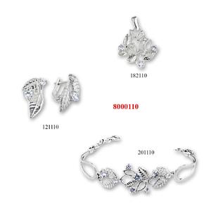 Сребърни бижута - комплект 8000110