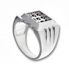 Сребърни бижута за мъже - 1415290