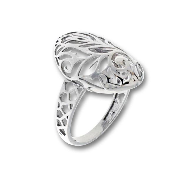 Сребърен пръстен без камък 1486080