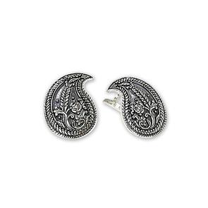 Сребърни обеци без камъни 136138