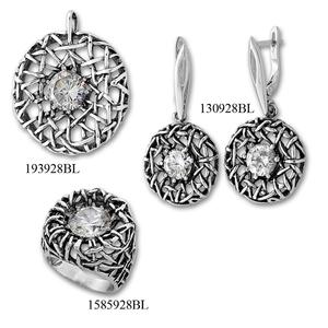 Сребърни бижута - комплект 8000928
