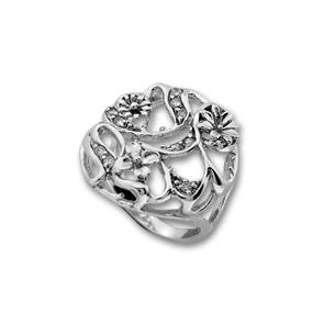 Пръстени с камък от сребро - 1625967
