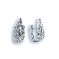 Oбици с камъни от сребро - 138177