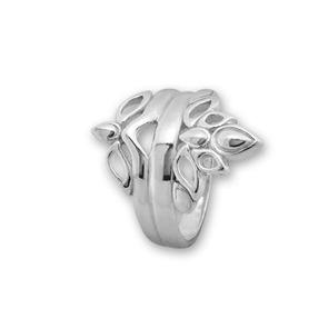 Сребърни пръстени без камък - 1566050