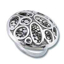 Сребърен пръстен без камък 1515835