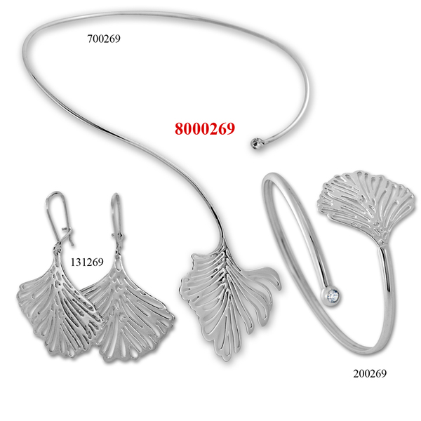 Сребърни бижута - комплект 8000269