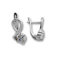 Oбици с камъни от сребро - 114476
