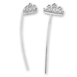 Oбици с камъни от сребро - 139055