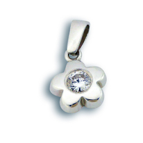 Висулки от сребро с камък - 184762