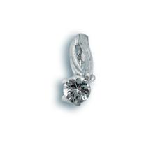 Висулки от сребро с камък - 184148