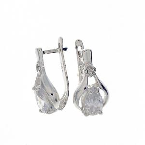 Oбици с камъни от сребро - 121648