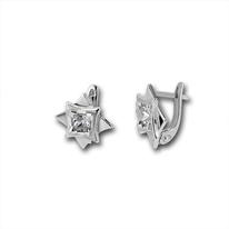 Oбици с камъни от сребро - 114459