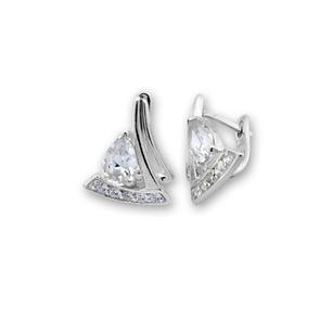 Oбици с камъни от сребро - 138623