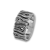 Сребърни пръстени без камък - 1665938