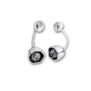 Oбици с камъни от сребро - 137965