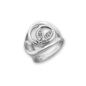 Пръстени с камък от сребро - 1616035