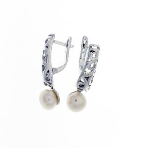 Сребро с перли - 115647