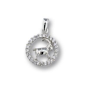 Висулки от сребро с камък - 174703