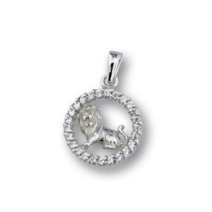 Висулки от сребро с камък - 174698