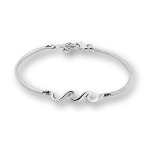 Сребърна гривна 201242