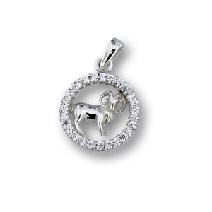Висулки от сребро с камък - 174694