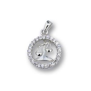 Висулки от сребро с камък - 174700