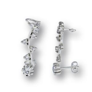Oбеци с камъни от сребро - 137246