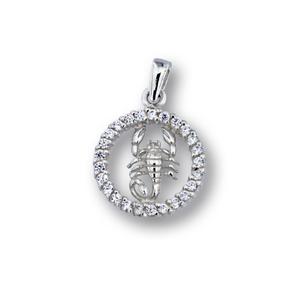 Висулки от сребро с камък - 174701