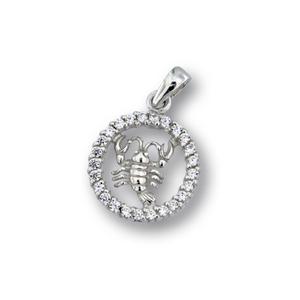 Висулки от сребро с камък - 174697