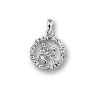 Висулки от сребро с камък - 174702