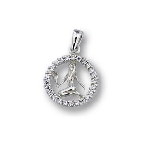 Висулки от сребро с камък - 174699