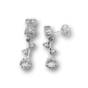 Oбеци с камъни от сребро - 137247