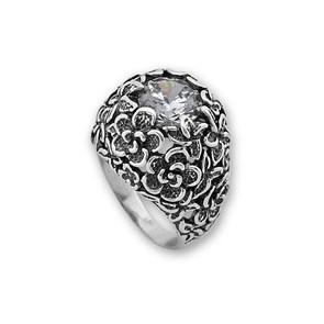 Пръстени с камък от сребро - 1586028