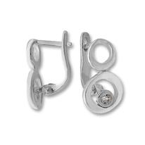 Oбици с камъни от сребро - 114554