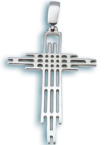 Сребърен кръст 177350