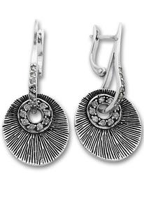 Oбеци с камъни от сребро 140493